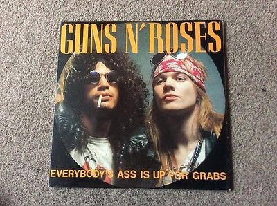 Guns N Roses Everybodys Ass Is Up For Grabs Dbl Vinyl Lp Demos And Live 1987/8