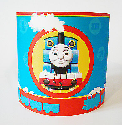 Children's Lighting Lampshade made from Thomas The Tank Engine Paper