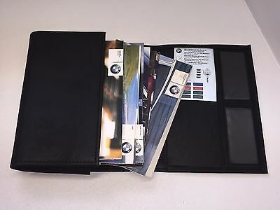 Bmw 5 Series E39  Owners Manual Handbooks With Leather Valet