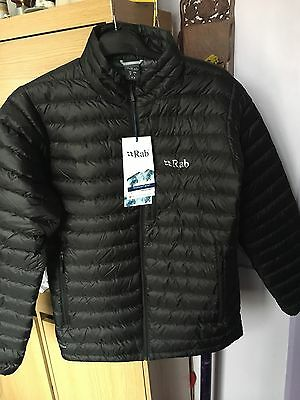 Rab Mens Microlight Jacket - Black Size M