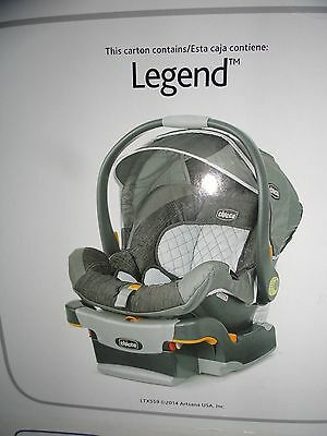 Chicco KeyFit 30 Infant Car Seat - Legend ,Car seat and Base