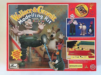Wallace And Gromit Modelling Kit Aardman Animations 1994 Boxed Complete