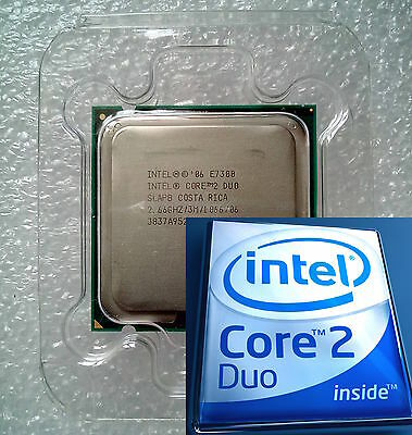 Intel Core 2 Duo E7300 2,66GHz/3MB/1066FSB Socket LGA775/fast delivery to Spain