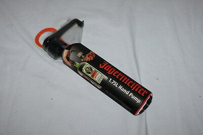 * NEW * Jagermeister 1.75L Hand Pump Jager Bottle Shot Dispenser Sealed