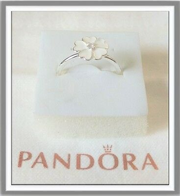 Authentic PANDORA PRIMROSE Ring Silver S925 Size 6 or 7 or 8