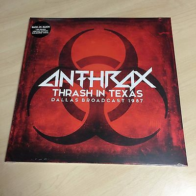Anthrax ‎– Thrash In Texas (VINYL) Brand new and sealed