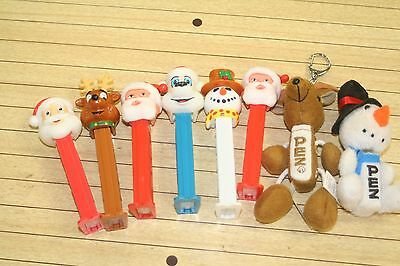 Lot of  Pez Dispensers Christmas Lot of 8