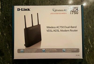 modem router wireless dlink AC750 dual band Vdsl/Adsl