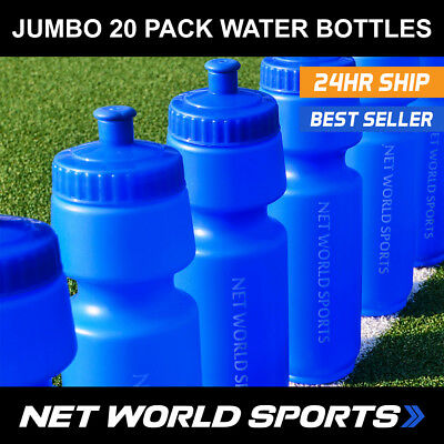 Multi-Pack 20 Sports Drinks Water Bottles – Ideal For Football, Rugby, Cricket