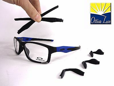 Oakley Crosslink MNP 8090 09 Black Cobalto 55 GLASSES OCCHIALI VISTA GLASSES fe387e7614