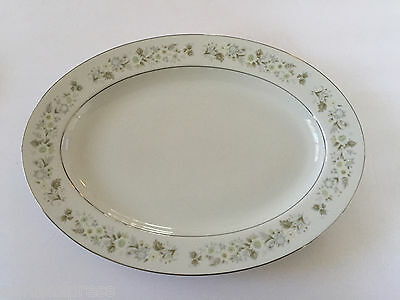 "Imperial China by W. Dalton Japan WILD FLOWER 745 - 14"" OVAL SERVING PLATTER"