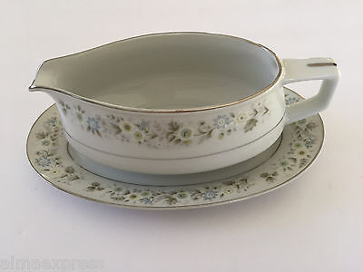 Imperial China by W. Dalton Japan WILD FLOWER 745 GRAVY BOAT / RELISH UNDERPLATE