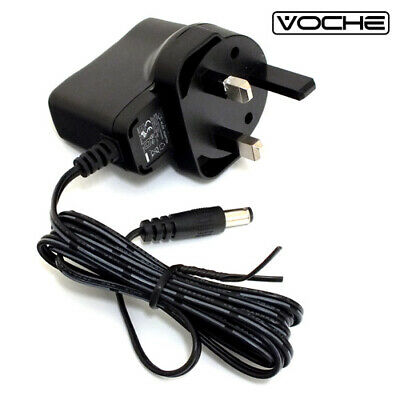 Voche® Wireless Driveway Security Alert Alarm System Mains Dc Power Adaptor Plug