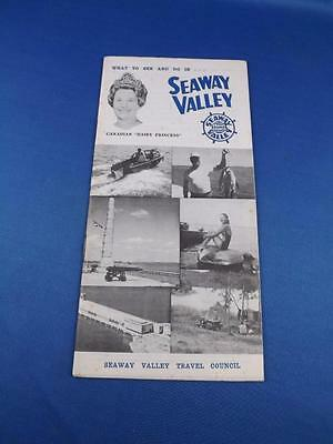 Travel Brochure Booklet What To See And Do In Seaway Valley Ontario Camp Boating