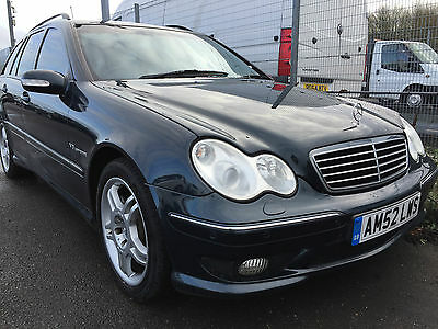 52 Mercedes C32 Amg Estate 3.2 V6 Supercharged, **very Rare**, 354 Bhp, Lovely!