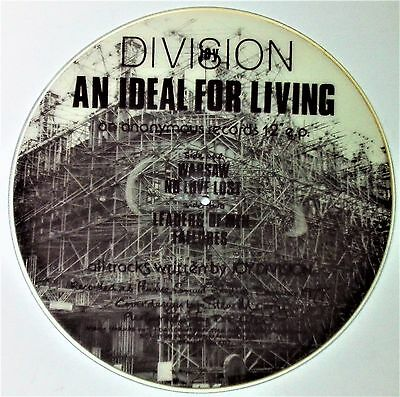 """Joy Division - An Ideal For Living - 12"""" Picture Disc (EX)"""