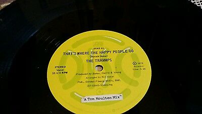 The trammps that's where the happy people go rare 12 inch vinyl single northern
