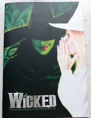 WICKED Thatre Programme