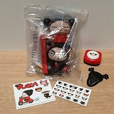Pucca McDonalds Toys ~ One Sealed In Bag Plus Others