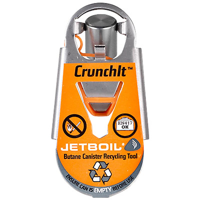Jetboil Crunchit Butane Canister Recycling Tool...Recycle Old Gas Canisters!!!