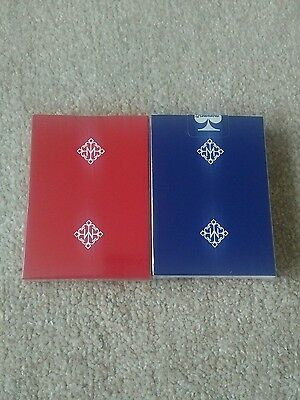BLUE MADISON ROUNDERS + PRIVATE RESERVE playing cards new sealed rare