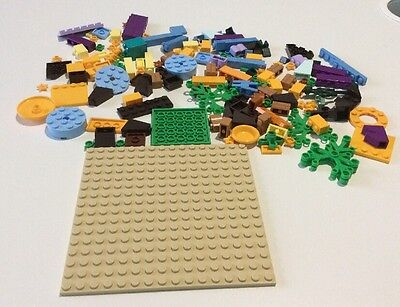 Lego Collection Of Various Bricks And Pieces - Various Colours - Rare Colours