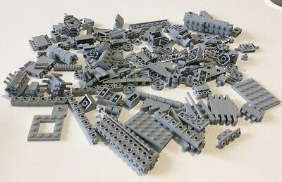 Lego Collection Of Various Bricks And Pieces - Light Grey