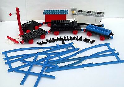 Vintage Lego Train items including Lots of Track