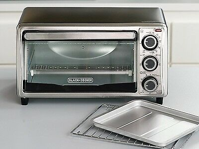 Brand New,black & Decker Toaster Oven, Save Money, Bake Biscuit In 6 Minutes.