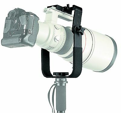 Manfrotto 393 Long Lens Monopod Bracket. EU seller No Fees! NEW!