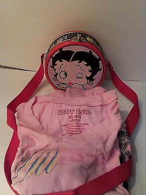 King Feature Syndicate BETTY BOOP TIN MINI PURSE w/T-Shirt Auction Finds 702
