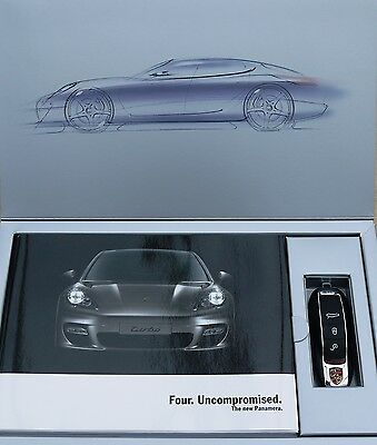 Porsche Panamera Customer Brochure Pack with USB stick