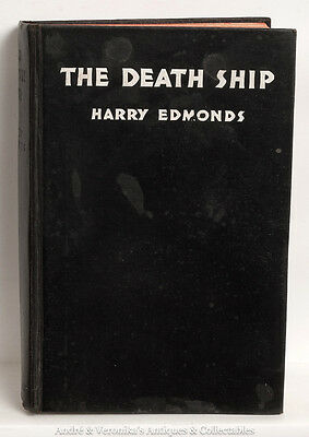 THE DEATH SHIP The Tragedy of the VALMIERA Shipwreck 1933 1st Eng. Ed Rare Book
