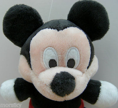 """Genuine Original Disney Baby's First 9"""" MICKEY MOUSE Soft Plush Toy"""