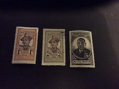 martinique stamps early high cv