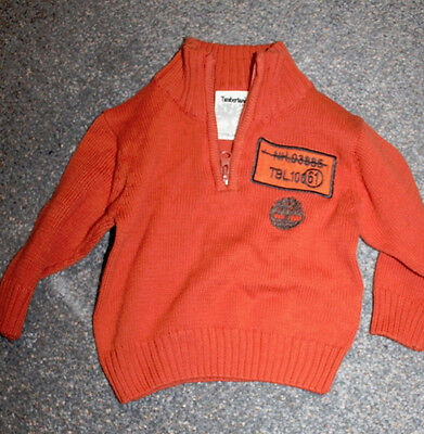 Timberland Kids Jumper Sweater 1 Year 12 Month Genuine Vintage Cc7