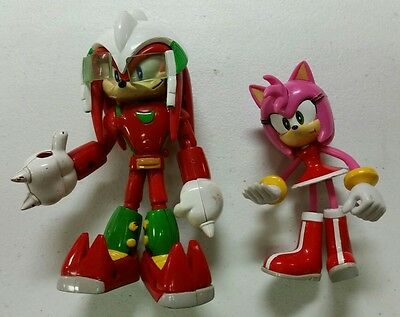 Sonic Project Sonix X Space Fighters Knuckles w/ Amy Rose