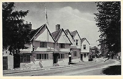 Old Postcard Of The George Hotel Dorchester On Thames