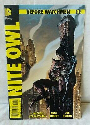 Before Watchmen Nite Owl Issue 1 Of 4 August 2012 In VGC