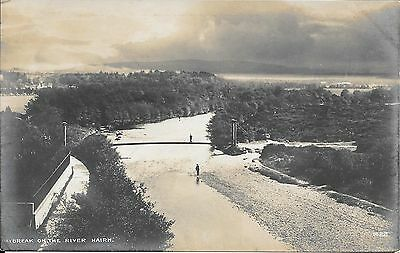 Old Postcard Of Daybreak On The River Nairn