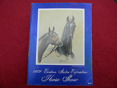 1989 Eastern States Exposition Horse Show Program