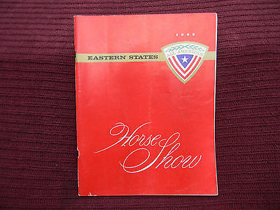 1965 Eastern States Horse Show Program - All American