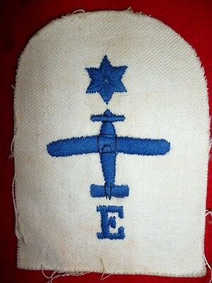 Royal Navy - Leading Air Mechanic Engines Summer Dress Cloth Insignia Patch