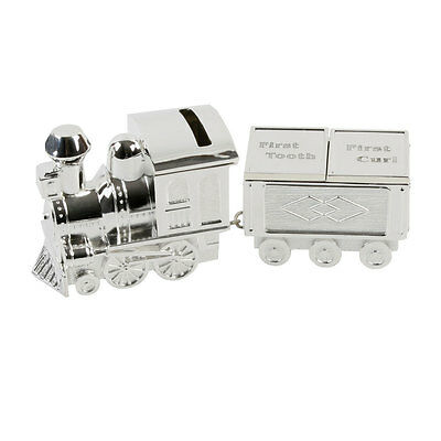 Train Money Bank & First Tooth, Curl Carriage by Juliana