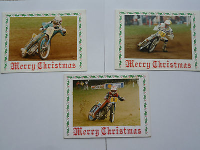 6 x Speedway Xmas Cards with envelopes