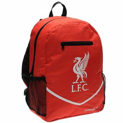 NEW - Official Liverpool FC - LFC Football Backpack - School Bag