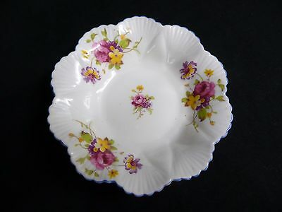 Vintage 'shelley' Flowered Pin Dish.