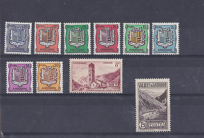 Timbres Andorre France