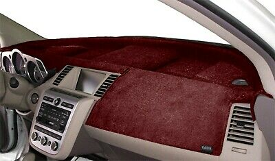 Ford Van E-Series 2009-2017 Velour Dash Board Cover Mat Red