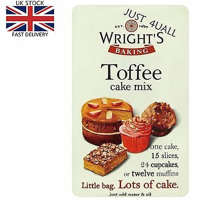 1 x 500g Wright's Toffee Cake Mix